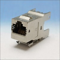 AMP, RJ45 CHASS CT6 FTP