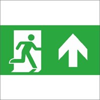 ECOLIGHT PICTOGRAM PLAAT RECHTDOOR