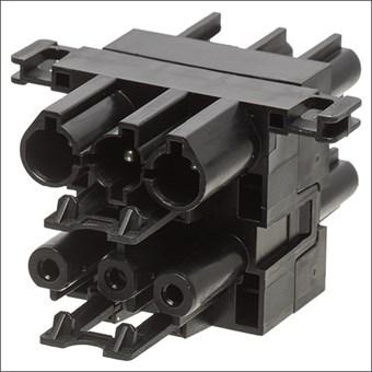 AC166 GVH 4/ 3 ADELS H-VERDELER 1IN 3UIT SCHROEF ZW