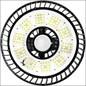 LEDNOVATE STRALER 100W 5700K SENSOR 115G