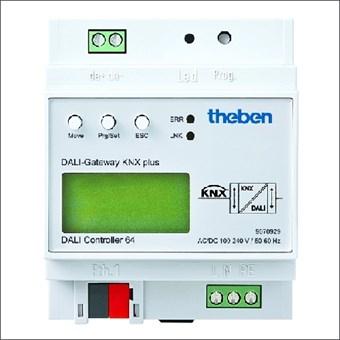 9070929 THEBEN DALI GATEWAY KNX MAX 64 DEELN
